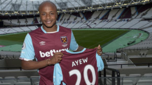 West Ham manager Slaven Bilic happy with Andre Ayew capture