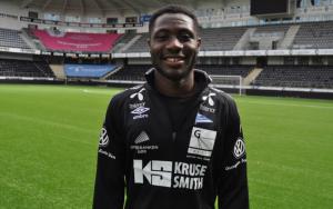 Ghanaian striker Dennis Antwi signs three-year deal with Norwegian outfit IK Start