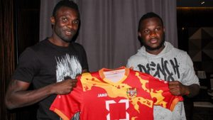 Emmanuel Frimpong set to play alongside Awal Mohammed at Russian side Arsenal Tula after securing a deal.