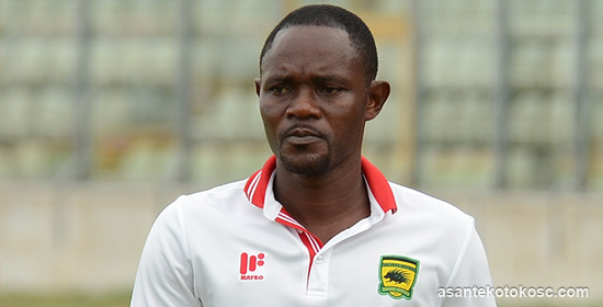 Kotoko assistant coach Godwin Ablordey sure of dismantling Liberty on Saturday