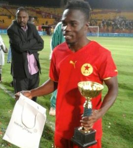 Ghana's Augustine Okrah delighted to be in superb form