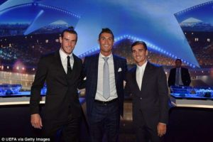 Cristiano Ronaldo crowned best player in Europe