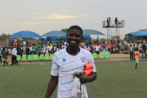 Inter Allies striker Ropapa Mensah happy to have scored against Hearts of Oak