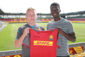 Ghanaian youngster Abdul Mumin signs Pro contract with FC Nordsjalland