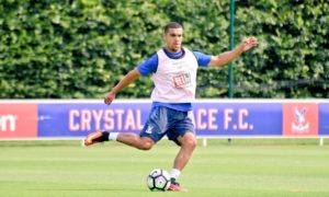 Kwesi Appiah starts training with Crystal Palace after a long injury lay-off