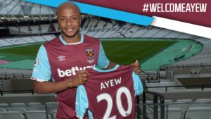 VIDEO: Andre Ayew signs for West Ham; has message for fans