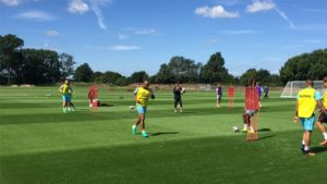 VIDEO: Andre Ayew begins training with West Ham United