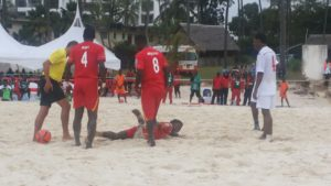 AFCON 2016 Beach Soccer Qualifier: Black Sharks humiliate Kenya 10-3 in Mombasa