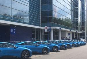 Jeffrey Schlupp, Daniel Amartey get brand new BMW i8's for winning last season's EPL title with Leicester City