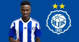Inter Allies winger Evans Mensah joins HJK Helsinki on a loan deal