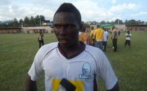 Ebusua Dwarfs terminate former Hearts striker Gilbert Fiamenyo's contract
