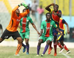 MATCH REPORT: Hearts 1-1 Techiman City --- Hearts frustrated by stubborn City defence