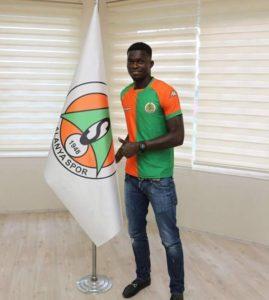 Ghanaian youngster Isaac Sackey signs with Turkish Club Alanyaspor