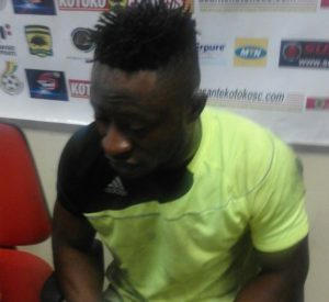 Berekum Chelsea goalie John Moosie hopes his excellent display caught the attention of Kotoko