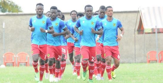 Kotoko step-up training for Dreams FC duel