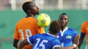 Sierra Leone set up camp in Ghana ahead of Nations Cup tie