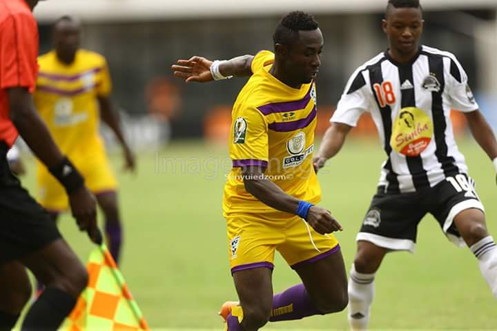 Photos: Medeama SC go second in Group A after 3-2 win over Mazembe