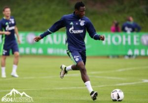 Video:  Baba Rahman starts training with Schalke 04, sets to make his debut on Thursday