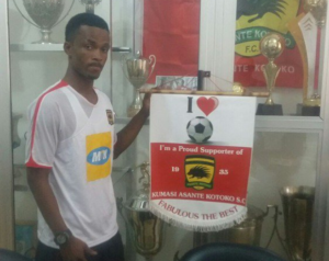 Kotoko defender Osei Agyemang urges teammates to be mentally tough