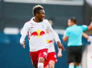Samuel Tetteh scores again to send FC Liefering top of Austrian second-tier