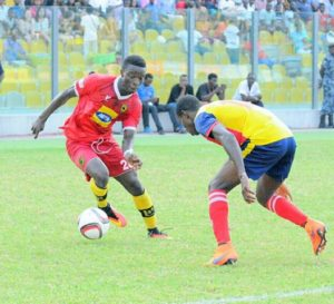 Asante Kotoko name Frank Sarfo player of the month