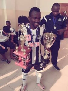 Solomon Asante helps TP Mazembe to win DR Congo Super Cup