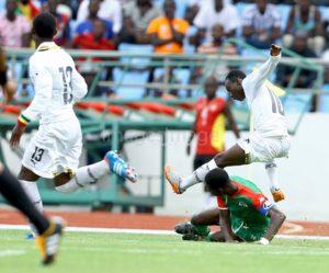 Photos: Black Starlets humiliate Burkina Faso 5-1 in AYC qualifier