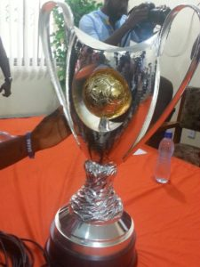 Watch Pictures of the New Ghana Premier League trophy