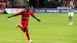 PHOTOS: Yaw Yeboah responds to maiden Ghana call-up with a goal for Dutch top-flight side Twente