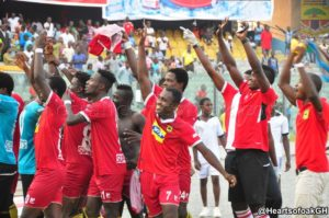 Asante Kotoko condemn fans attitude during Peace match friendly with Hearts in Accra