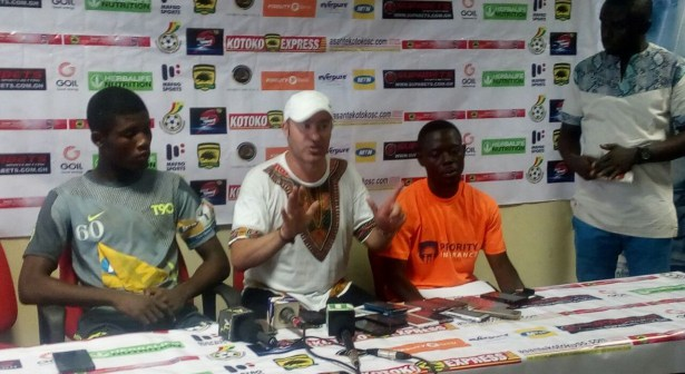 Prince Asempa named in Bechem United MTN FA Cup Final squad