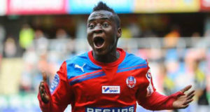 Chicago Fire's coach has no regrets about starting David Accam from the bench