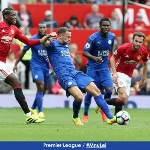 Amartey and Schlupp see gametime as Man Utd thrash Leicester 4-1
