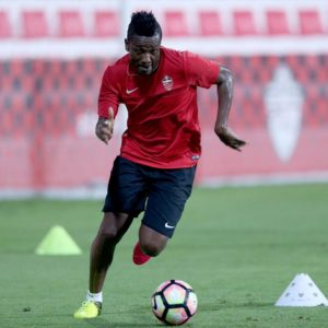 Opposition fans chant Gyan's name after he scores on his Al Ahli debut