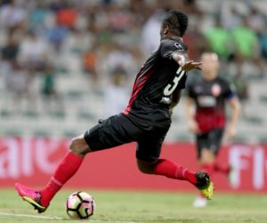 VIDEO: Watch Asamoah Gyan's injury-time winner in Al Ahli comeback win over Al Shabab