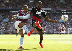 Jordan Ayew provides two assists as Aston Villa draw 2-2 with Nottingham Forest