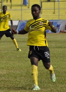 Ashgold's Osei Baffour believes this year is his best season