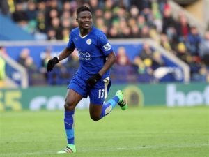 Danny Simpson believes Daniel Amartey can replace N'Golo Kante
