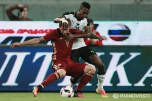 Video: The Russian goal that handed Ghana its first defeat in 2016
