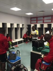 PHOTOS: Black Stars finalize preparations ahead of Russia clash