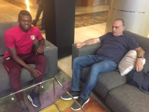 Avram Grant visits Thomas Partey in Spain ahead of Uganda showdown