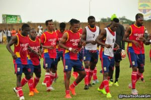 Accra Hearts of Oak quartet returns from injury for Medeama SC clash