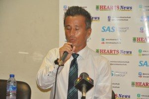 Kenichi Yatsuhashi disappointed Hearts of Oak couldn't win GPL title