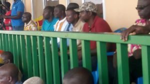 Aduana Stars accuse coach Maxwell Konadu and bodyguard for inciting fans to beat Albert Commey