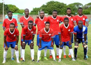 Players of Liberty Professionals abandon training