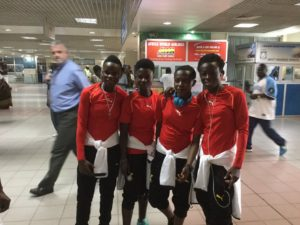 Photos: Black Maidens depart Accra for Jordan ahead of FIFA U17 World Cup