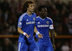 Michael Essien welcomes David Luiz back to Chelsea