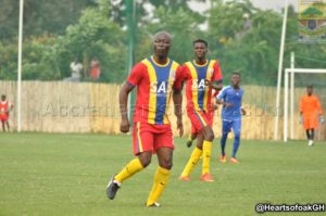 PHOTOS: Sports minister Nii Lantey Vanderpuje storms the playing field in Auroras defeat to VESA