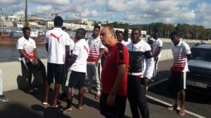 Watch photos of Black Stars players on the streets of Moscow ahead of Russia game