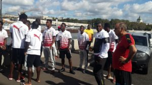 Video: Black Stars players take a walk through the streets of Moscow ahead of Russian friendly